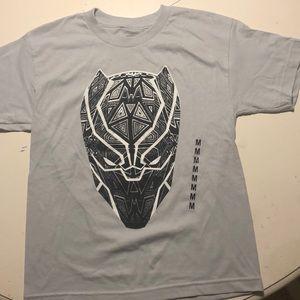 Kids Marvel Black Panther Shirt Med  Brand New